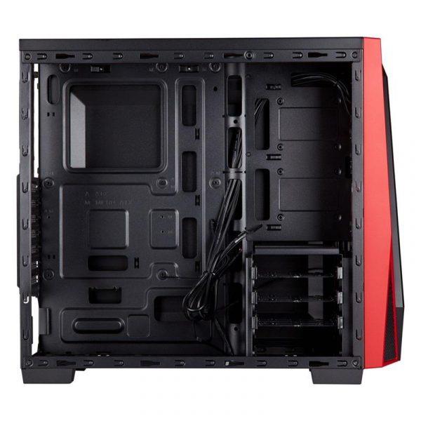 Корпус Corsair Carbide SPEC-04 Windowed Black/Red (CC-9011107-WW) без БЖ - купить в интернет-магазине Анклав