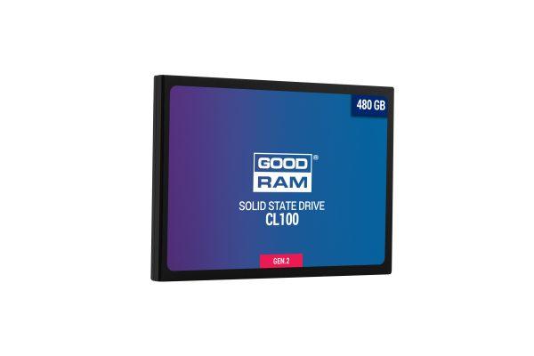 "SSD  480GB GOODRAM CL100 GEN.2 2.5"" SATAIII TLC (SSDPR-CL100-480-G2) - купить в интернет-магазине Анклав"