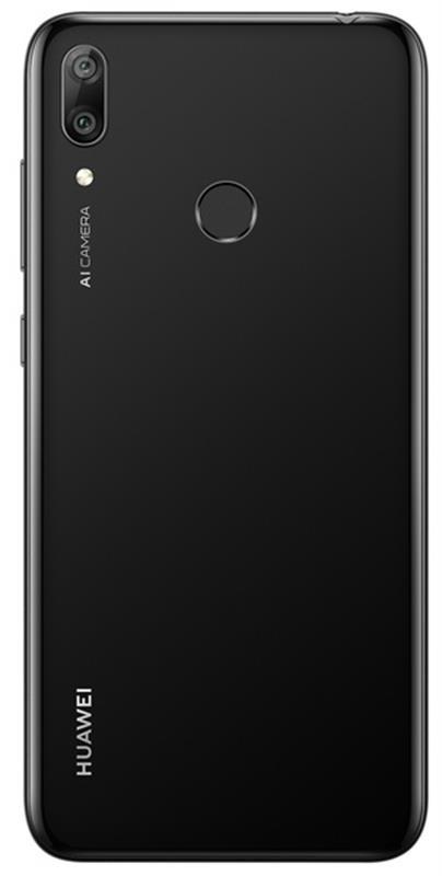 Huawei Y7 2019 Dual Sim Midnight Black - купить в интернет-магазине Анклав