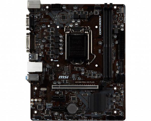 MSI H310M PRO-VD Plus Socket 1151 - купить в интернет-магазине Анклав