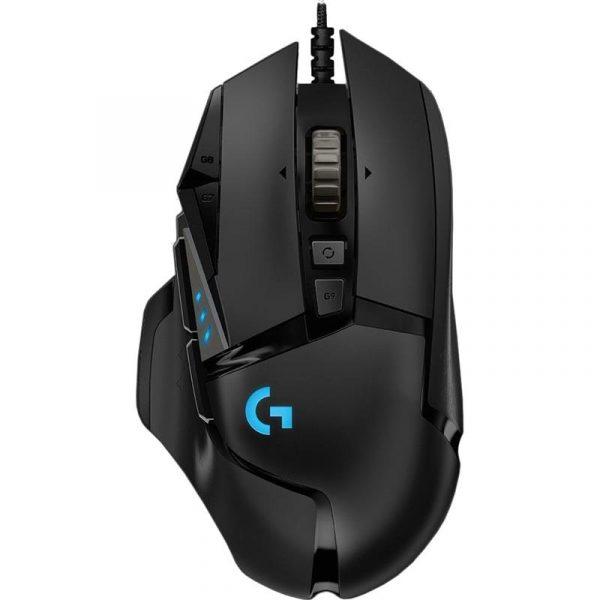 Мышь Logitech G502 Hero (910-005470) Black USB - купить в интернет-магазине Анклав