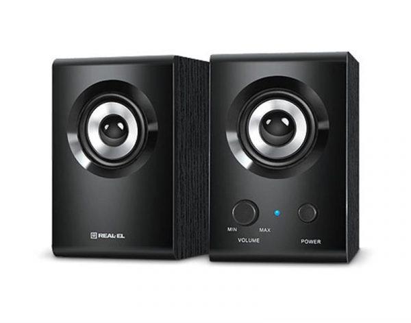 Акустична система REAL-EL S-210 Black - купить в интернет-магазине Анклав