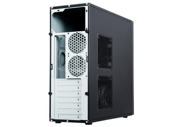 Корпус Chieftec Elox HQ-01B-OP без БП, 2xUSB3.0, Black - купить в интернет-магазине Анклав