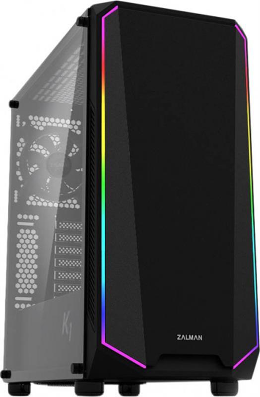 Корпус Zalman K1 Black без БЖ - купить в интернет-магазине Анклав