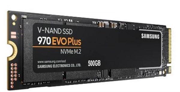 SSD  500GB Samsung 970 EVO Plus M.2 PCIe 3.0 x4 V-NAND MLC (MZ-V7S500BW) - купить в интернет-магазине Анклав