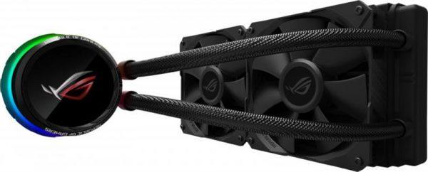 Система водяного охолодження Asus ROG Ryuo 2x120mm Aura OLED (ROG-RYUO-240) - купить в интернет-магазине Анклав