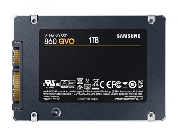 "SSD 1TB Samsung 860 QVO 2.5"" SATAIII MLC (MZ-76Q1T0BW) - купить в интернет-магазине Анклав"