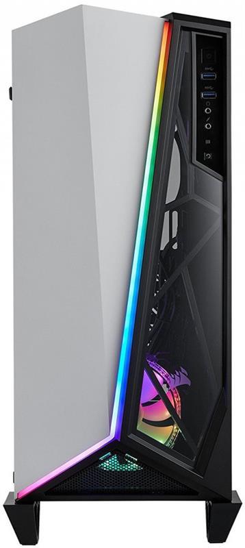 Корпус Corsair Carbide Spec-Omega RGB White/Black (CC-9011141-WW) без БП - купить в интернет-магазине Анклав