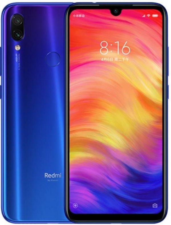 Xiaomi Redmi Note 7 4/64GB Dual Sim Neptune Blue - купить в интернет-магазине Анклав