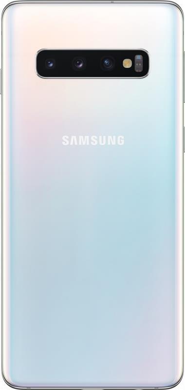 Samsung Galaxy S10 SM-G973 Dual Sim White (SM-G973FZWDSEK) - купить в интернет-магазине Анклав