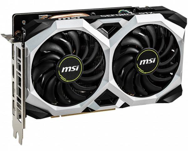 GF GTX 1660 Ti 6GB GDDR6 Ventus XS OC MSI (GeForce GTX 1660 Ti Ventus XS 6G OC) - купить в интернет-магазине Анклав