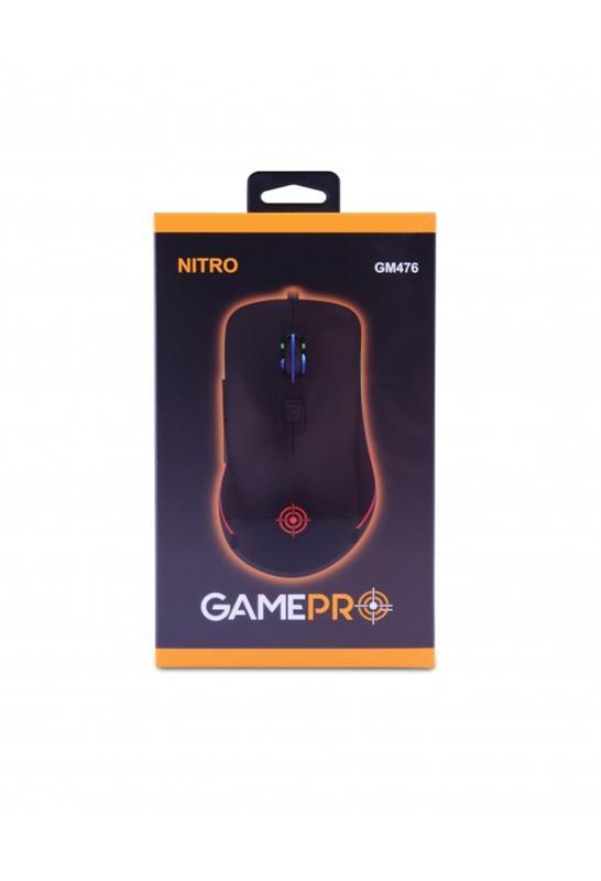 Мышь GamePro Nitro GM476 Black USB - купить в интернет-магазине Анклав