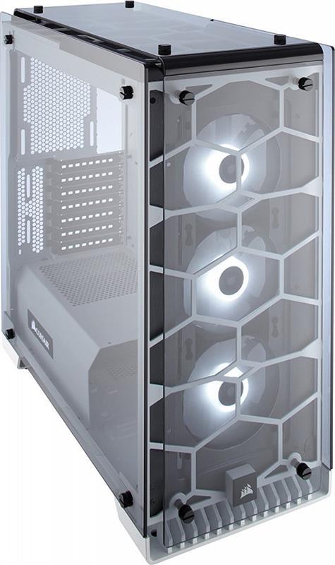 Корпус Corsair Crystal 570X RGB White (CC-9011110-WW) без БЖ - купить в интернет-магазине Анклав