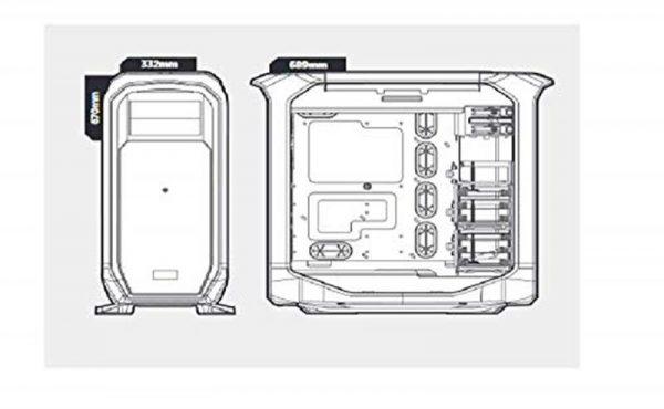 Корпус Corsair Graphite 780T Black (CC-9011063-WW) без БП - купить в интернет-магазине Анклав