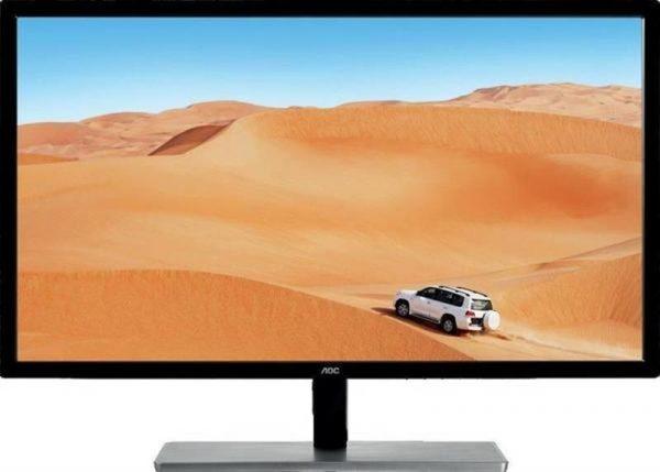"""AOC 31.5"""" Q3279VWFD8 IPS Black/Silver - купить в интернет-магазине Анклав"""