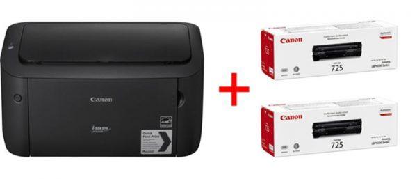 Бандл: Принтер А4 Canon i-SENSYS LBP6030B (8468B006) + 2 картриджа Canon 725 - купить в интернет-магазине Анклав