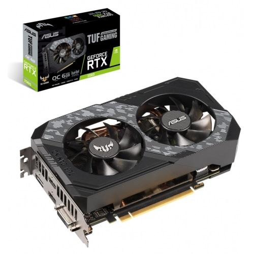 GF RTX 2060 6GB GDDR6 TUF Gaming OC Asus (TUF-RTX2060-O6G-Gaming) - купить в интернет-магазине Анклав
