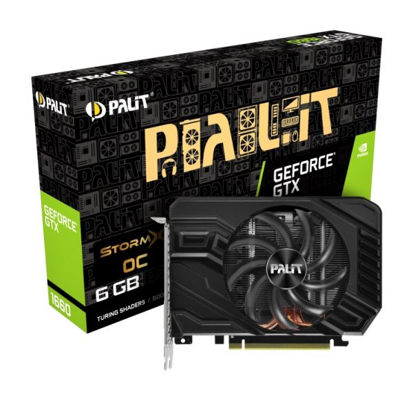 GF GTX 1660 6GB GDDR5 StormX OC Palit (NE51660S18J9-165F) - купить в интернет-магазине Анклав