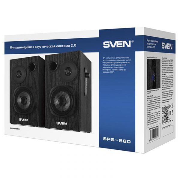 Акустична система Sven SPS-580 Black - купить в интернет-магазине Анклав
