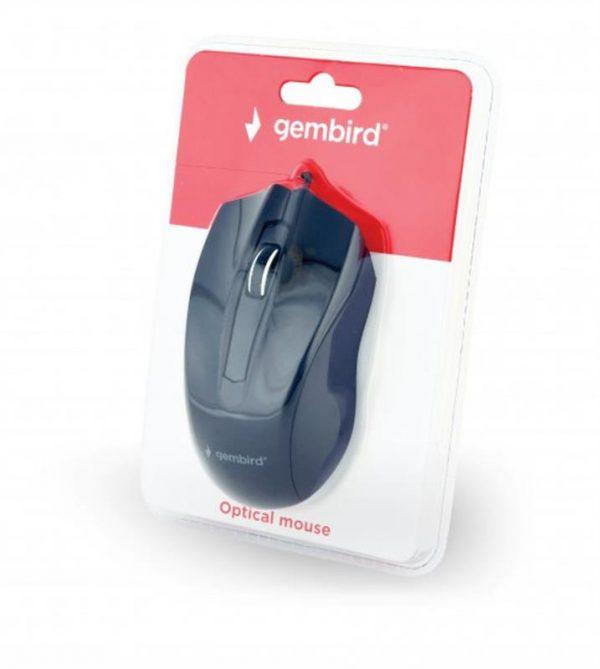 Мишка Gembird MUS-3B-01 Black USB - купить в интернет-магазине Анклав