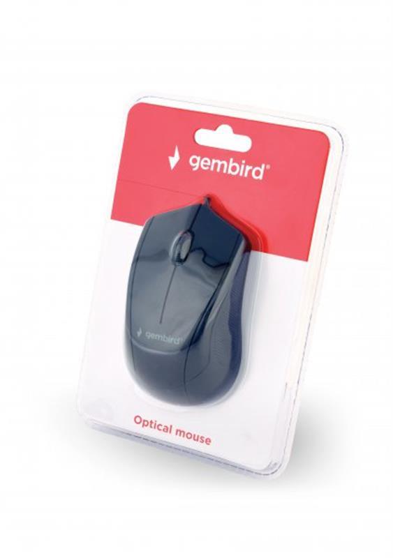 Мишка Gembird MUS-3B-02 Black USB - купить в интернет-магазине Анклав