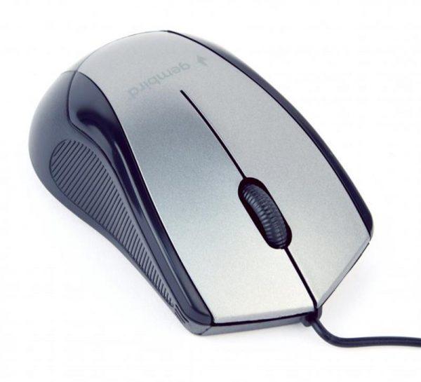 Мышь Gembird MUS-3B-02-BG Black/Grey USB - купить в интернет-магазине Анклав