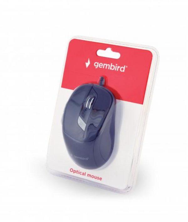 Мишка Gembird MUS-6B-01 Black USB - купить в интернет-магазине Анклав