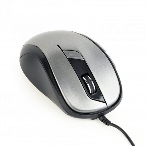 Мишка Gembird MUS-6B-01-BG Black/Grey USB - купить в интернет-магазине Анклав