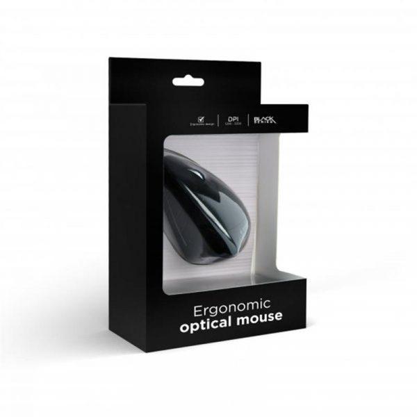Мишка Gembird MUS-ERGO-01 Black USB - купить в интернет-магазине Анклав