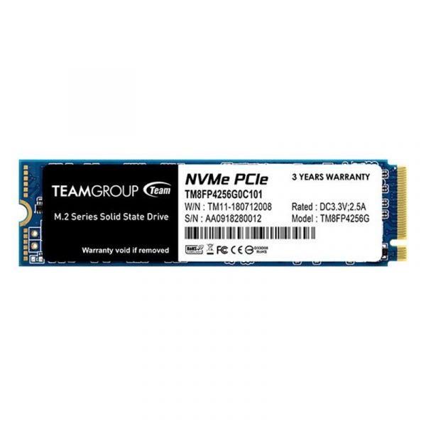 SSD  256GB Team MP34 M.2 2280 PCIe 3.0 x4 3D MLC (TM8FP4256G0C101) - купить в интернет-магазине Анклав