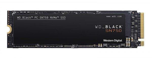Накопичувач SSD  500GB WD Black SN750 M.2 2280 PCIe 3.0 x4 3D TLC (WDS500G3X0C) - купить в интернет-магазине Анклав