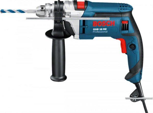 Электродрель Bosch GSB 16 RE БЗП 0.601.14E.500 (060114E500) - купить в интернет-магазине Анклав