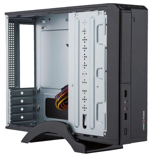 Корпус Logicpower S620-400w Slim Black - купить в интернет-магазине Анклав