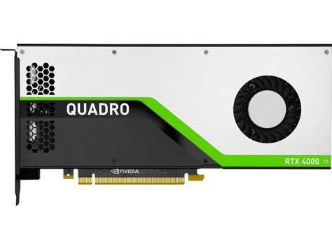Відеокарта Quadro RTX 4000 8GB GDDR6 HP (5JV89AA) - купить в интернет-магазине Анклав