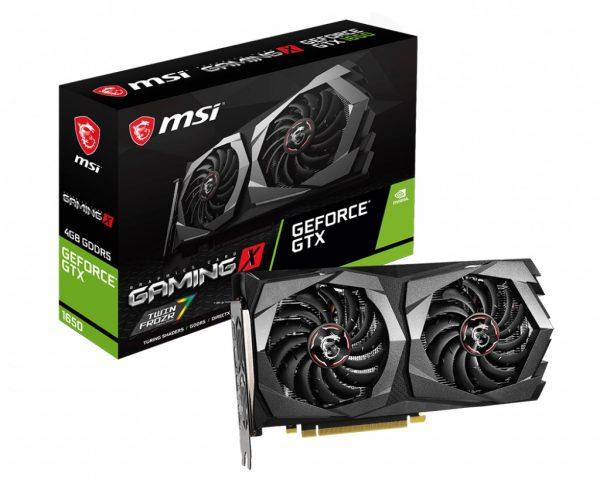 GF GTX 1650 4GB GDDR5 Gaming X MSI (GeForce GF GTX1650 GAMING X 4G) - купить в интернет-магазине Анклав