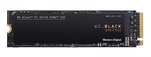 SSD 1TB WD Black SN750 M.2 2280 PCIe 3.0 x4 3D TLC (WDS100T3X0C) - купить в интернет-магазине Анклав