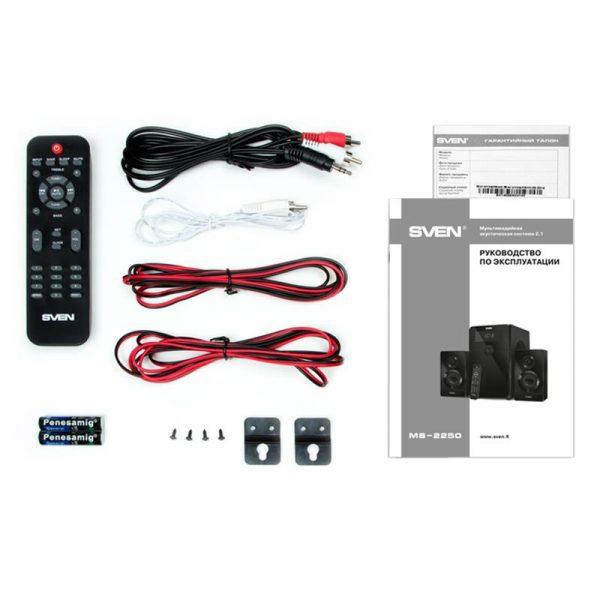 Акустическая система Sven MS-2250 Black UAH - купить в интернет-магазине Анклав