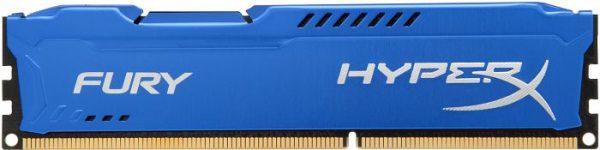 Модуль памяти DDR3 4GB/1600 Kingston HyperX Fury Blue (HX316C10F/4) - купить в интернет-магазине Анклав