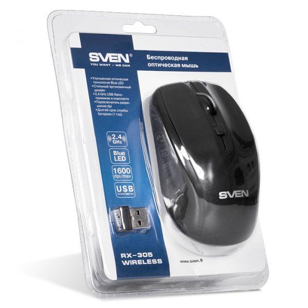 SVEN RX-305 wireless черный UAH - купить в интернет-магазине Анклав