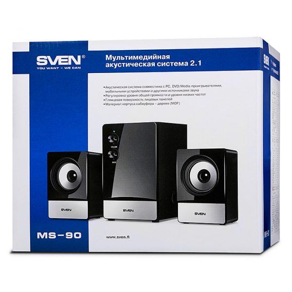 Акустическая система SVEN MS-90 черный UAH - купить в интернет-магазине Анклав