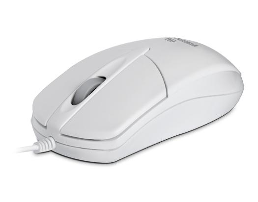 Мишка REAL-EL RM-211 White USB - купить в интернет-магазине Анклав