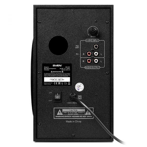 Акустична система SVEN 2.1 MS-305 Black - купить в интернет-магазине Анклав