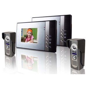 Комплекти відеодомофонів