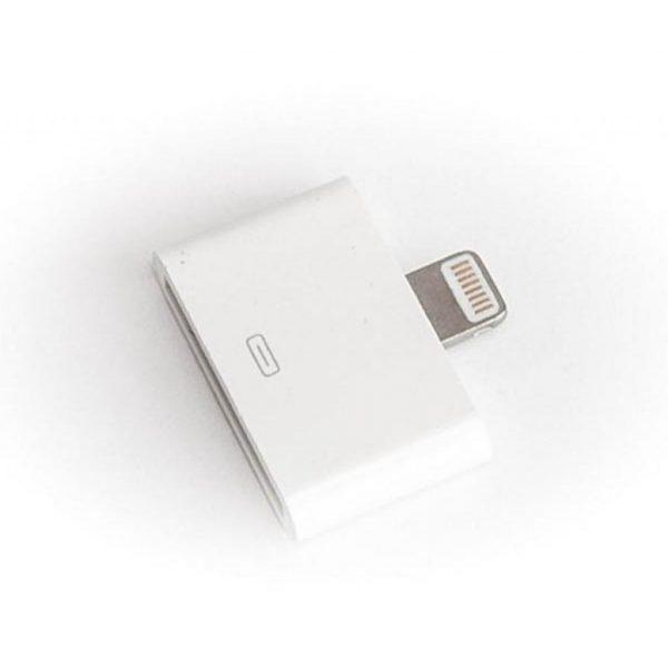 Перехідник PowerPlant Apple Lightning 8-pin to 30-pin Dock Connector (DV00DV4046) - купить в интернет-магазине Анклав