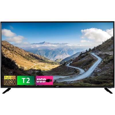 Телевизор Bravis LED-43G5000 + T2 black - купить в интернет-магазине Анклав