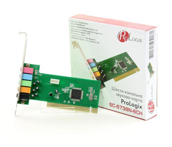 PCI ProLogix SC-8738N-6CN 6ch (SC-8738N-6CN) - купить в интернет-магазине Анклав