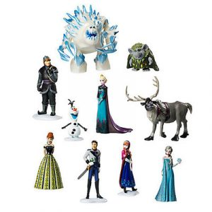 Персонажі мультфільмів, ігрові фігурки