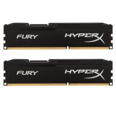 Модуль памяти для компьютера DDR4 16GB (2x8GB) 3200 MHz HyperX FURY Black Kingston (HX432C18FB2K2/16) - купить в интернет-магазине Анклав