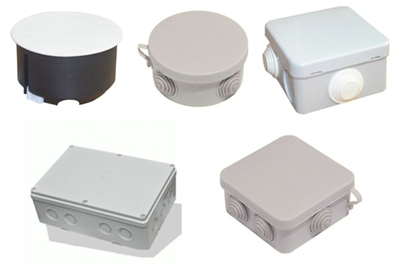 Розподільні й монтажні коробки