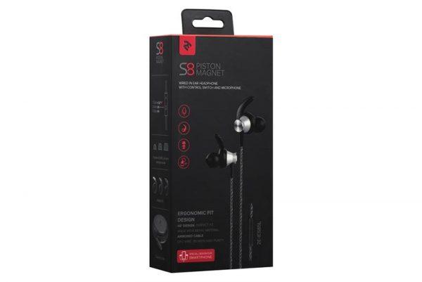 Гарнитура 2E S8 Piston Magnet Silver (2E-IES8SL) - купить в интернет-магазине Анклав